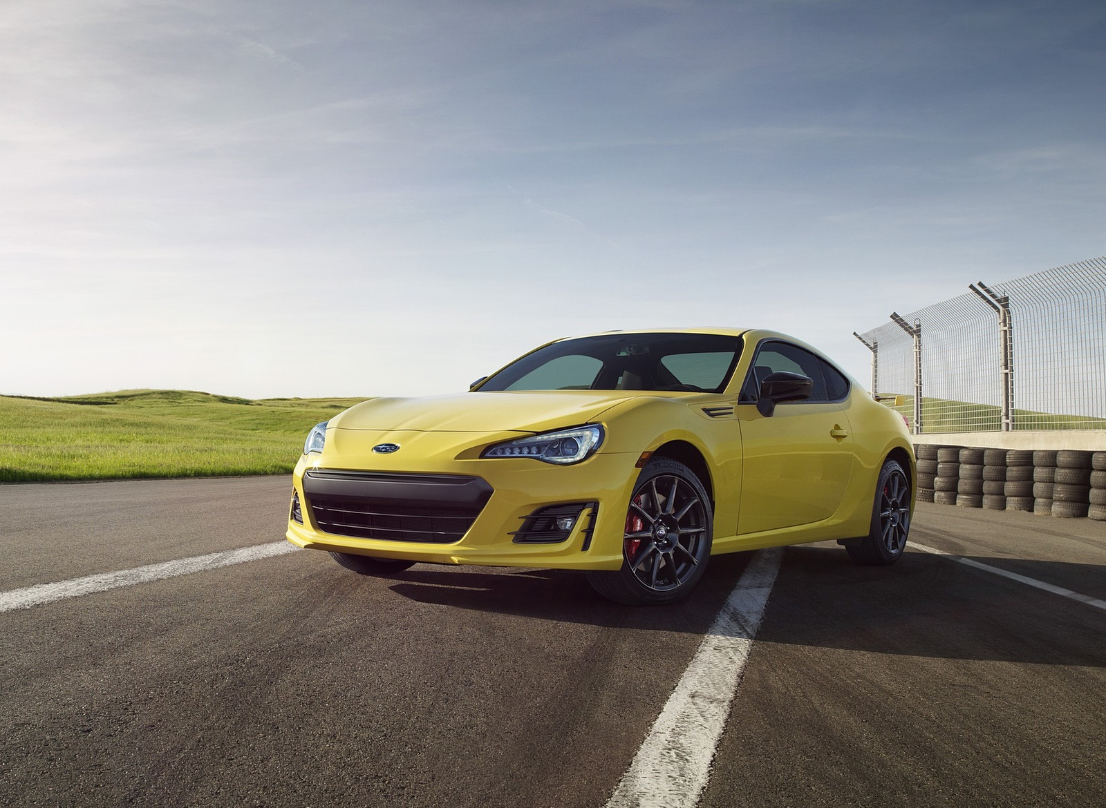 2017 Subaru BRZ Series.Yellow Front Three-Quarter Wallpapers (1)
