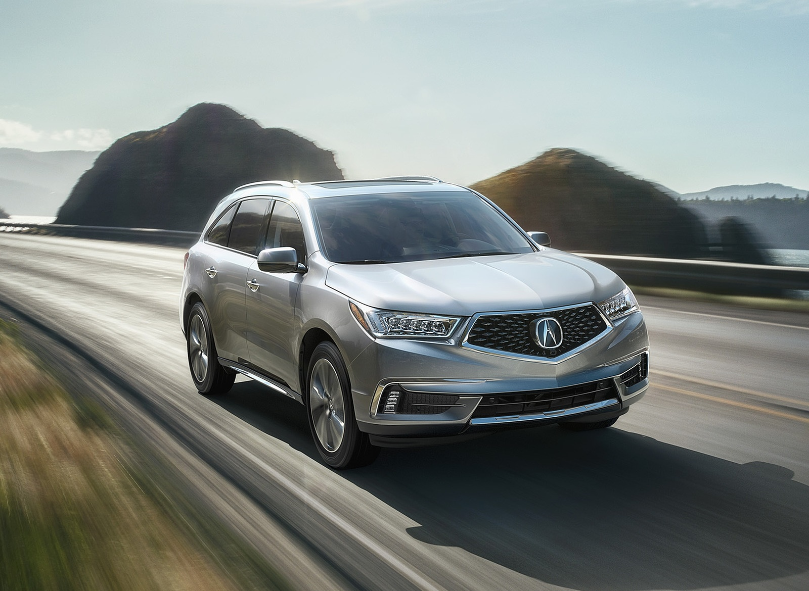 2018 Acura MDX Front Three-Quarter Wallpapers (12)