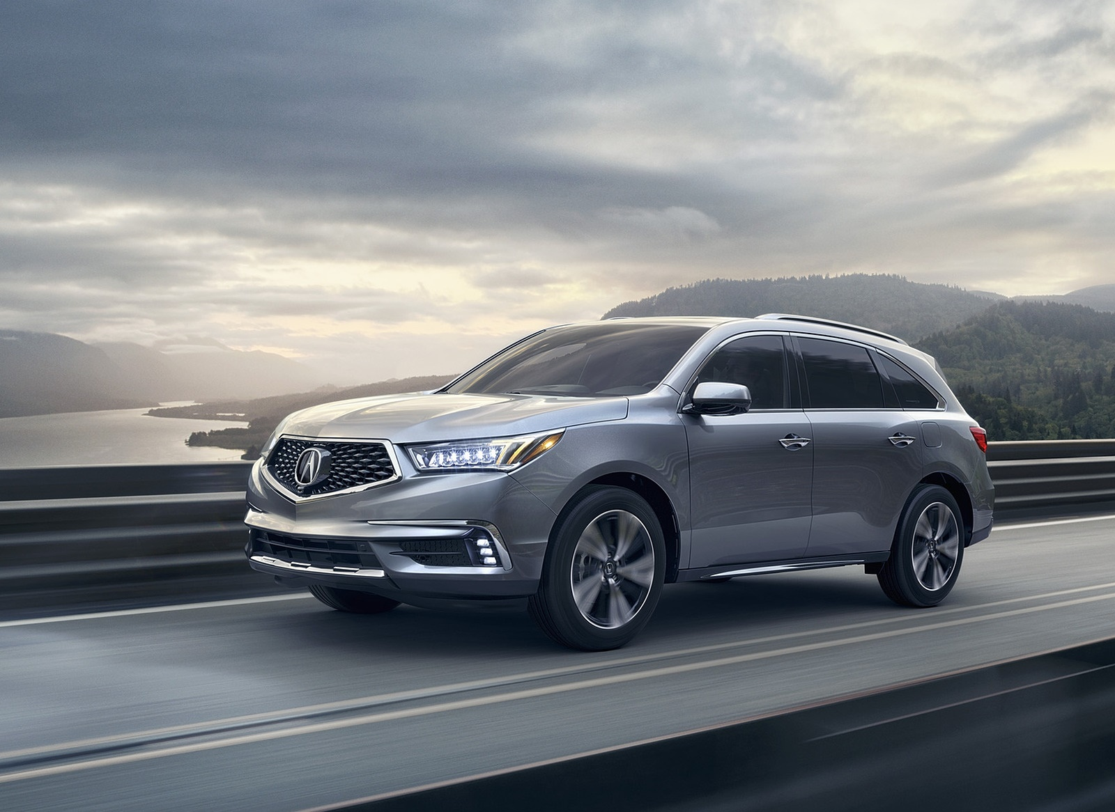 2018 Acura MDX Front Three-Quarter Wallpapers (4)