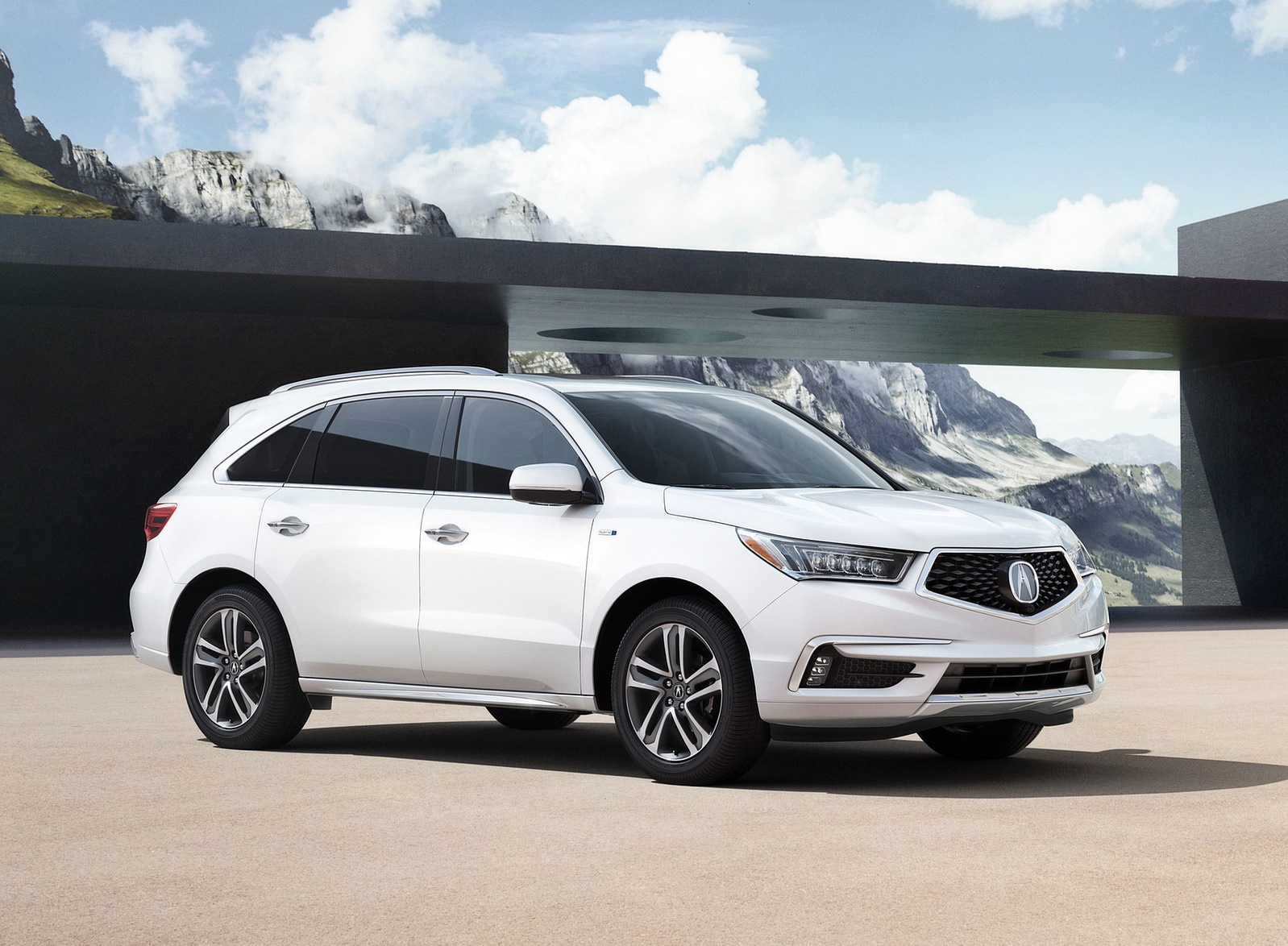 2018 Acura MDX Front Three-Quarter Wallpapers (11)