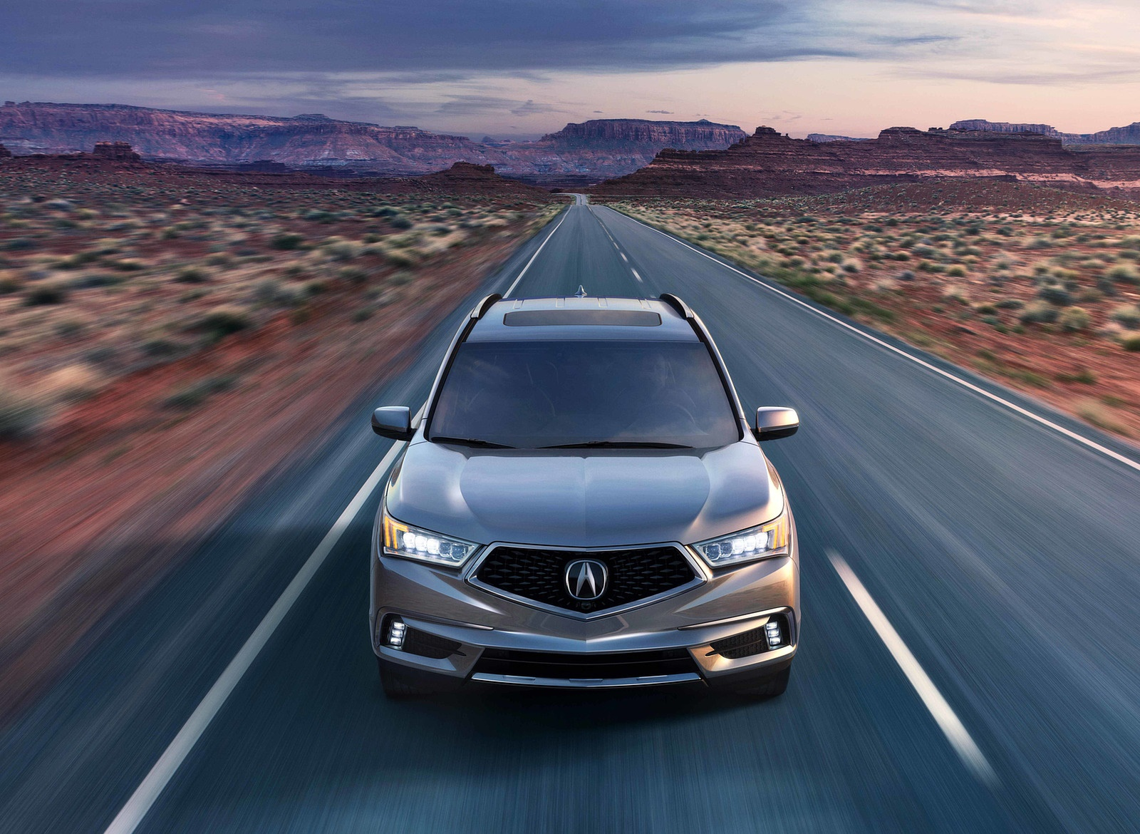 2018 Acura MDX Front Wallpapers (2)