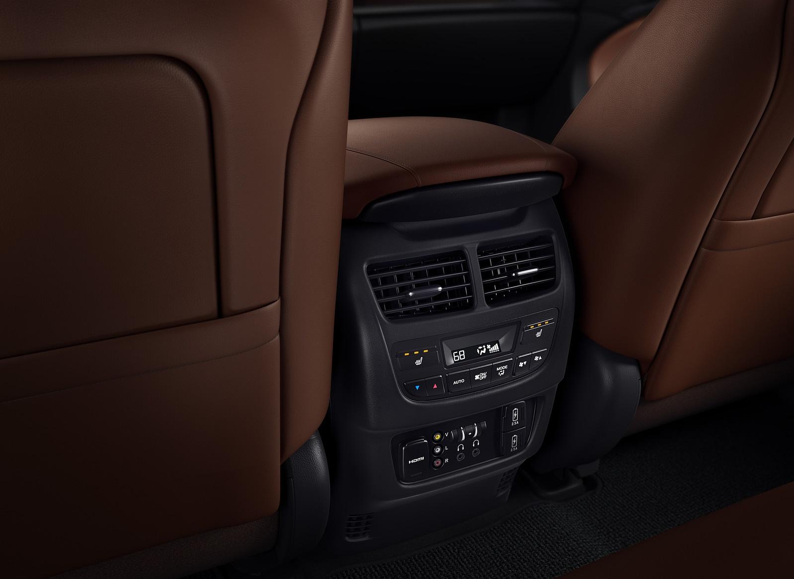 2018 Acura Mdx Interior Detail Wallpaper
