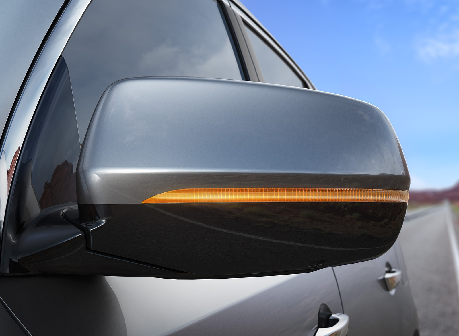 2018 Acura MDX Mirror Wallpapers (15)