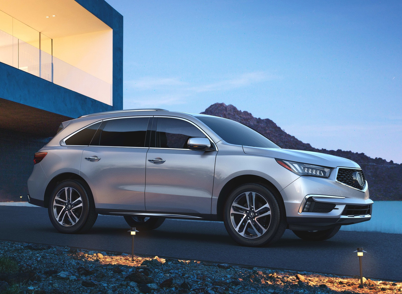 2018 Acura MDX Side Wallpapers (9)