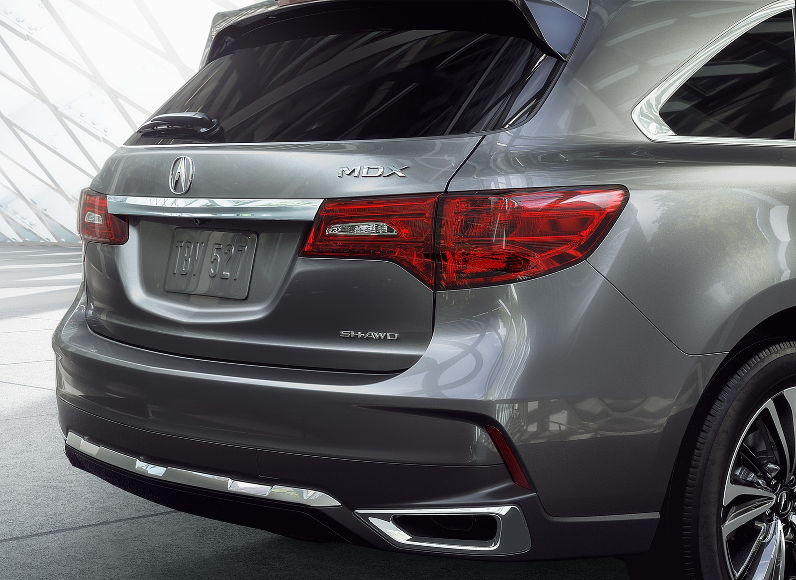 2018 Acura MDX Tail Light Wallpapers (14)