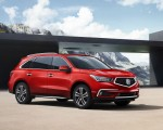 2018 Acura MDX with Advance Package (Color: San Marino Red) Front Three-Quarter Wallpaper 150x120 (5)