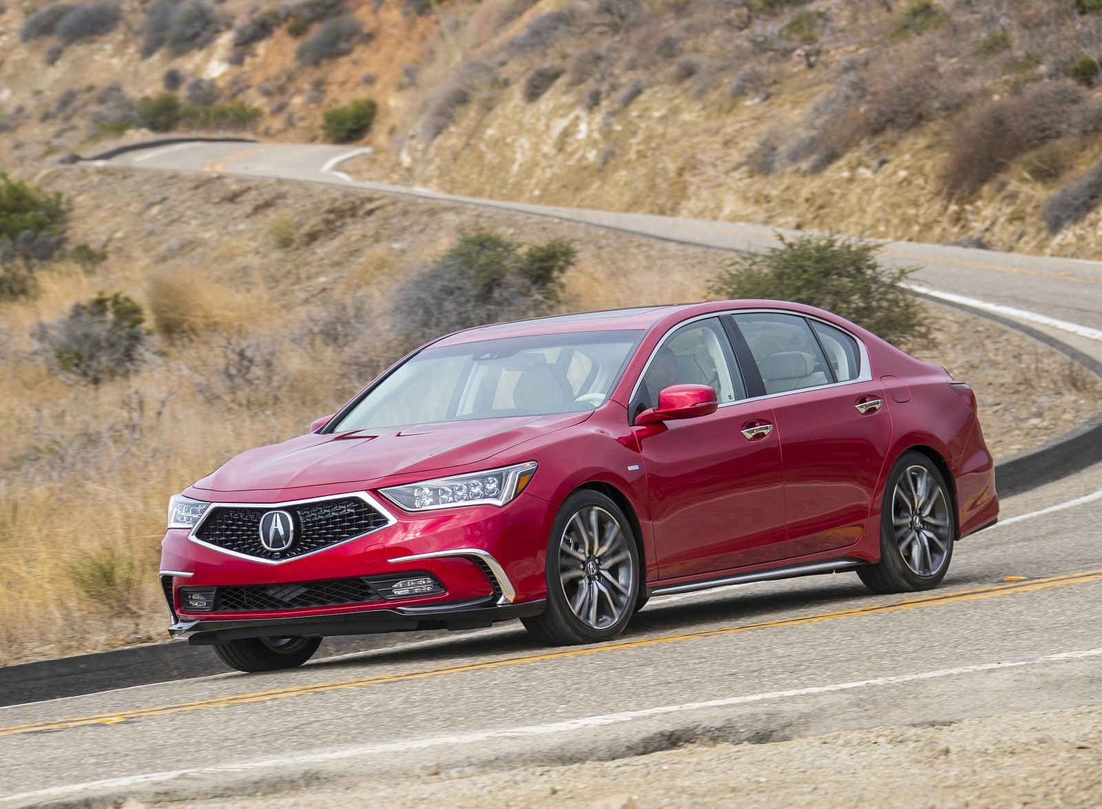 2018 Acura RLX Sport Hybrid Front Three-Quarter Wallpaper (10)