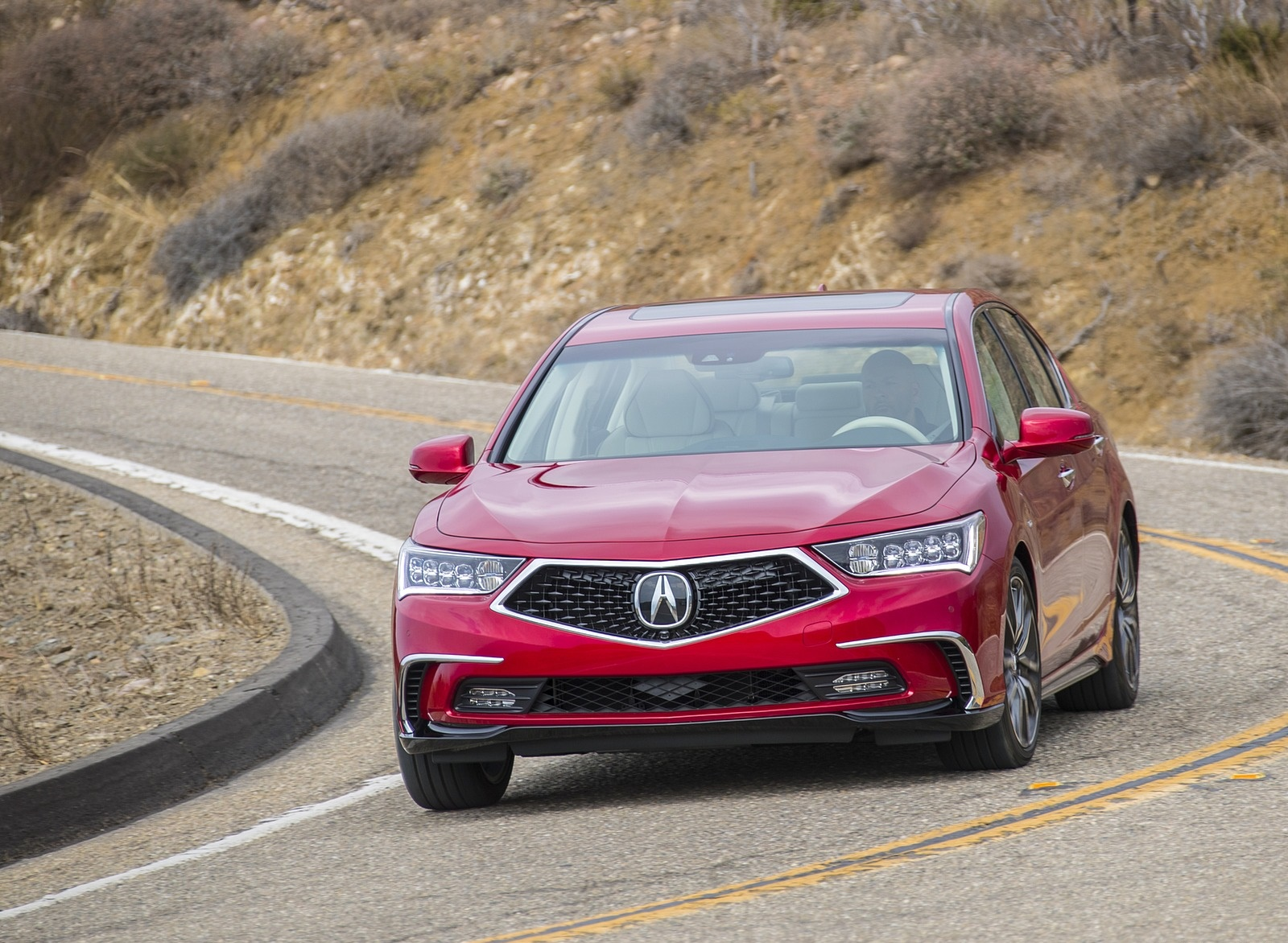 2018 Acura RLX Sport Hybrid Front Wallpapers (13)