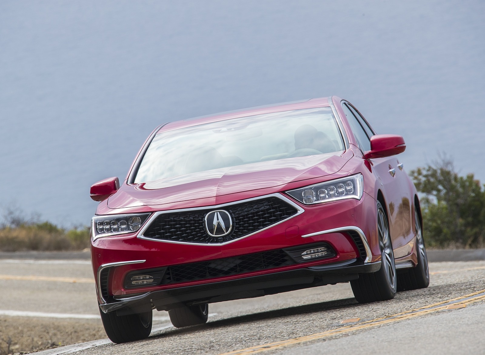 2018 Acura RLX Sport Hybrid Front Wallpapers (5)