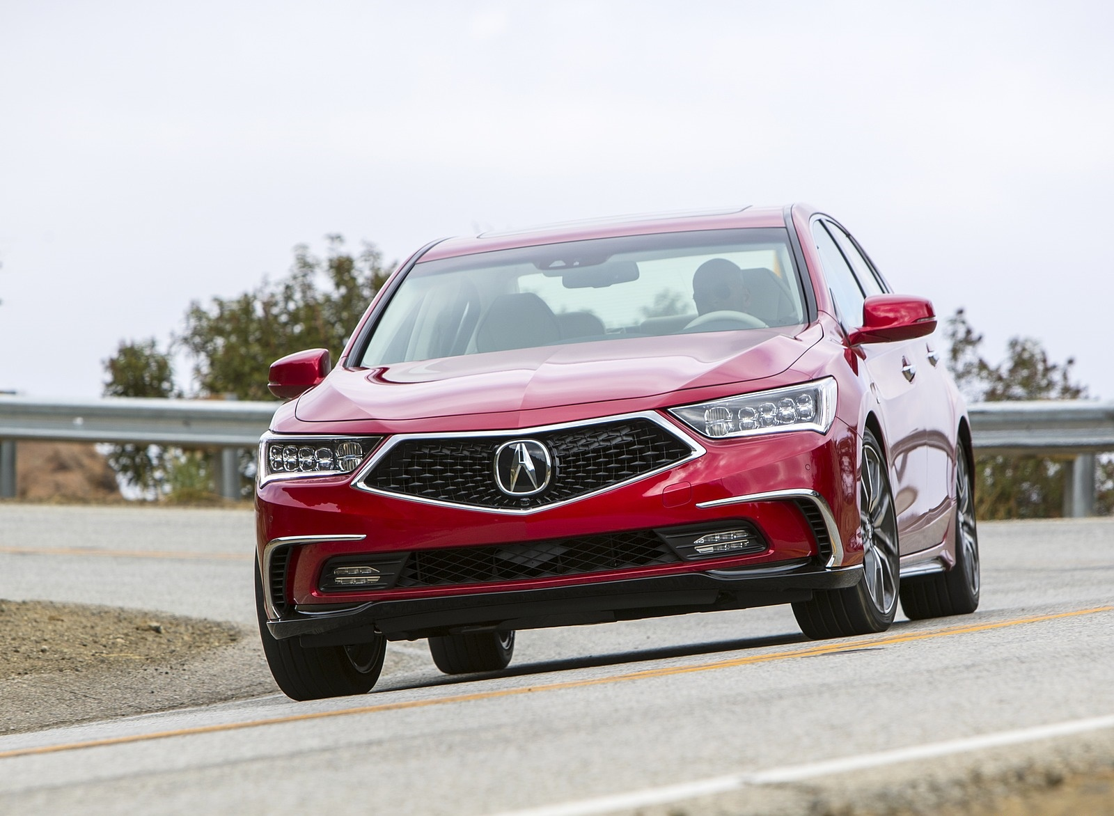 2018 Acura RLX Sport Hybrid Front Wallpapers (6)