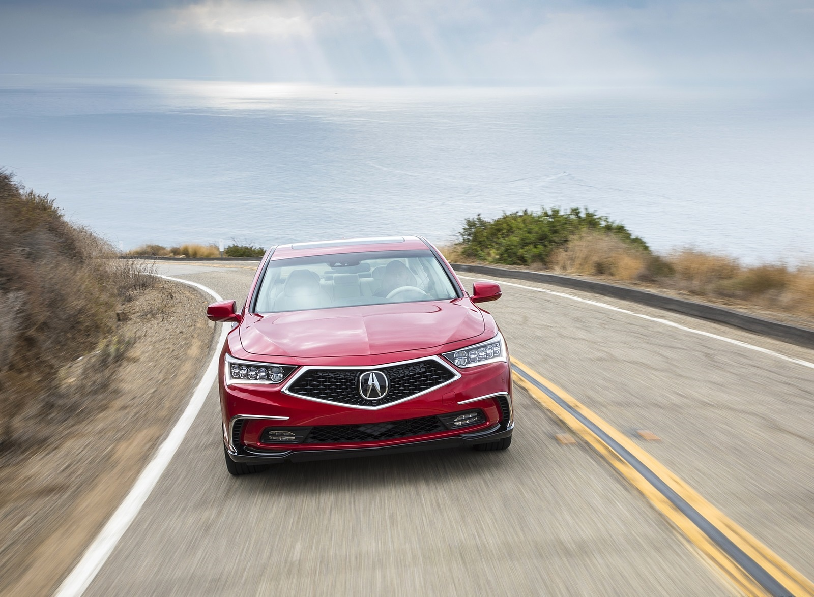 2018 Acura RLX Sport Hybrid Front Wallpapers (3)