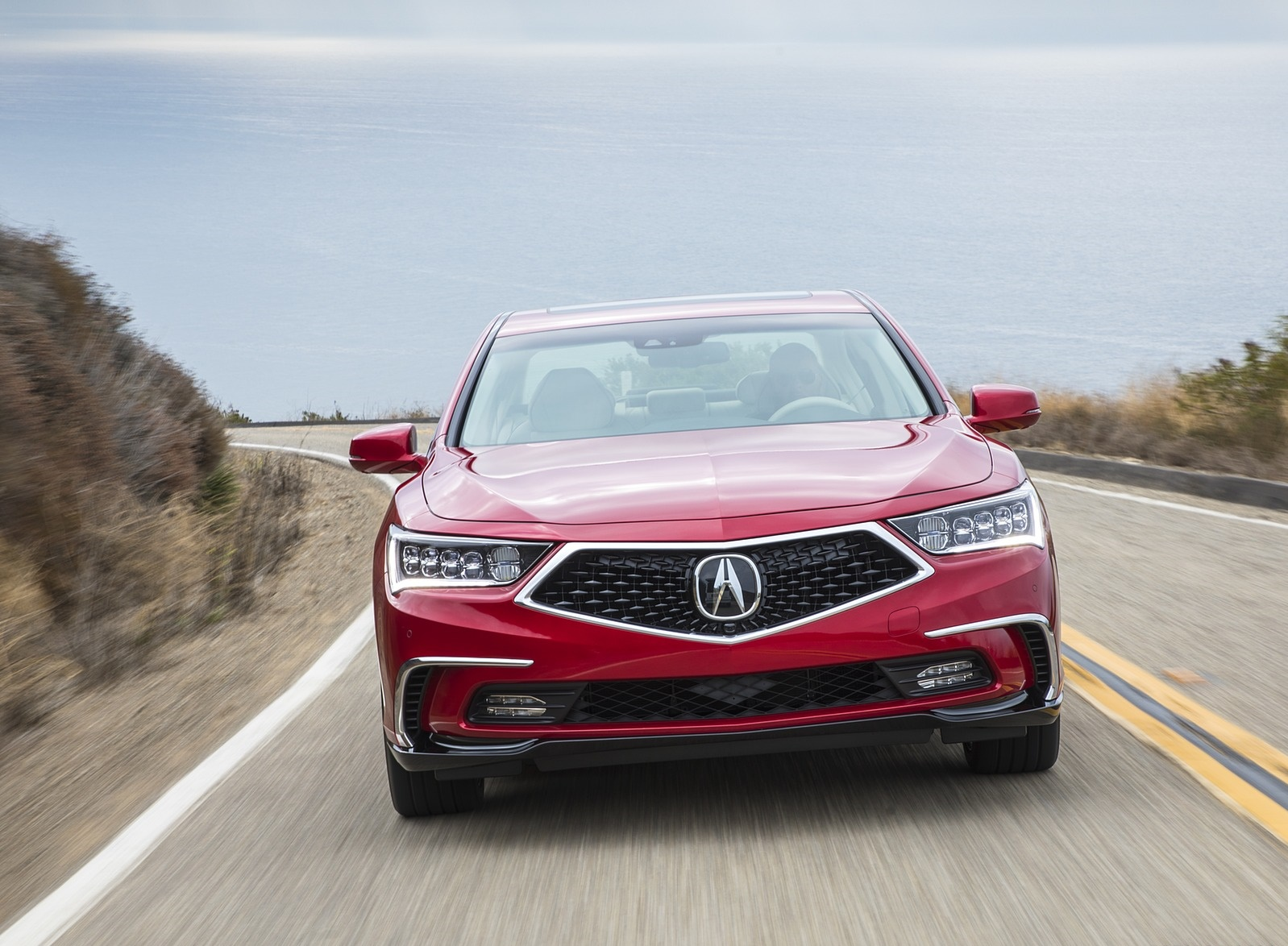 2018 Acura RLX Sport Hybrid Front Wallpapers (1)