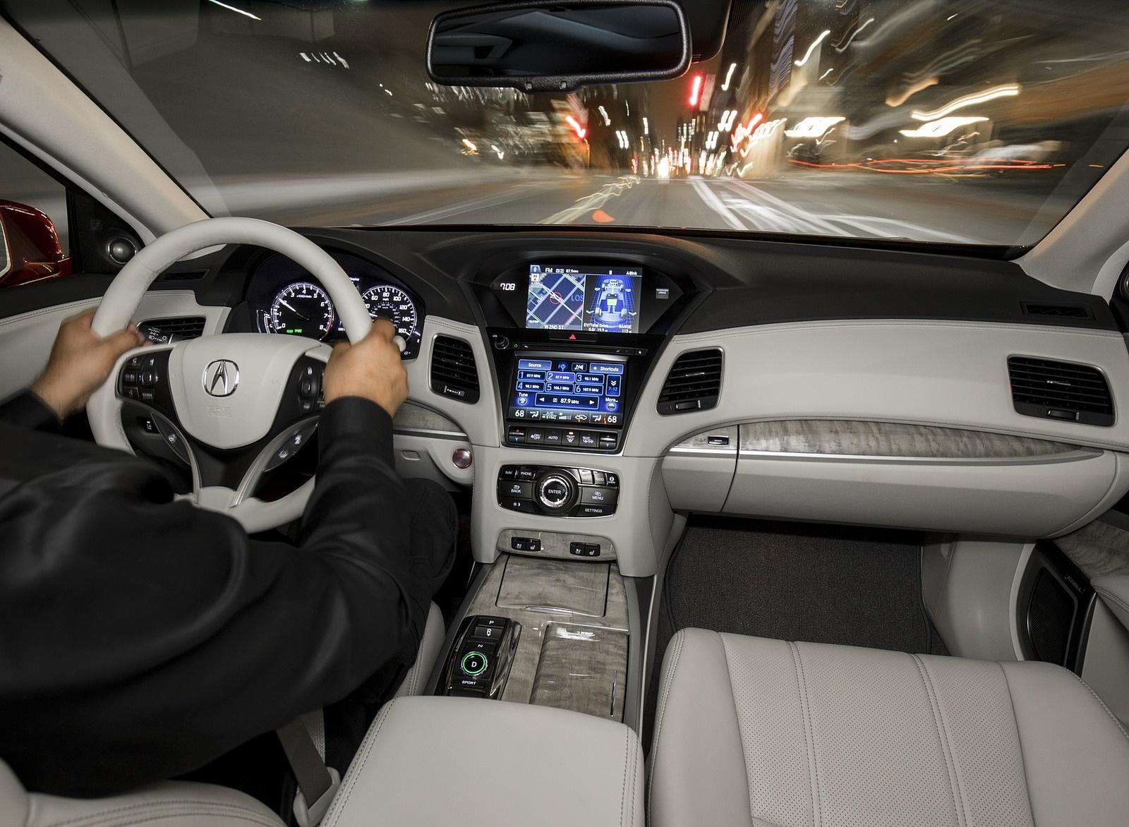 2018 Acura Rlx Sport Hybrid Interior Cockpit Wallpapers 58 Newcarcars