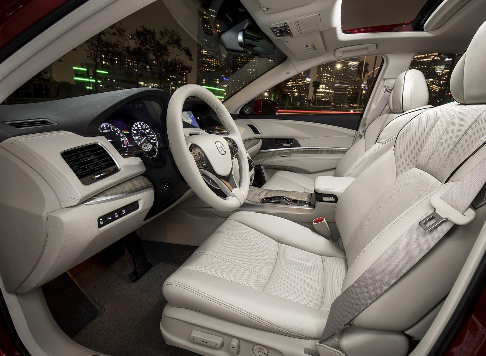 2018 Acura Rlx Sport Hybrid Interior Wallpapers 60 Newcarcars