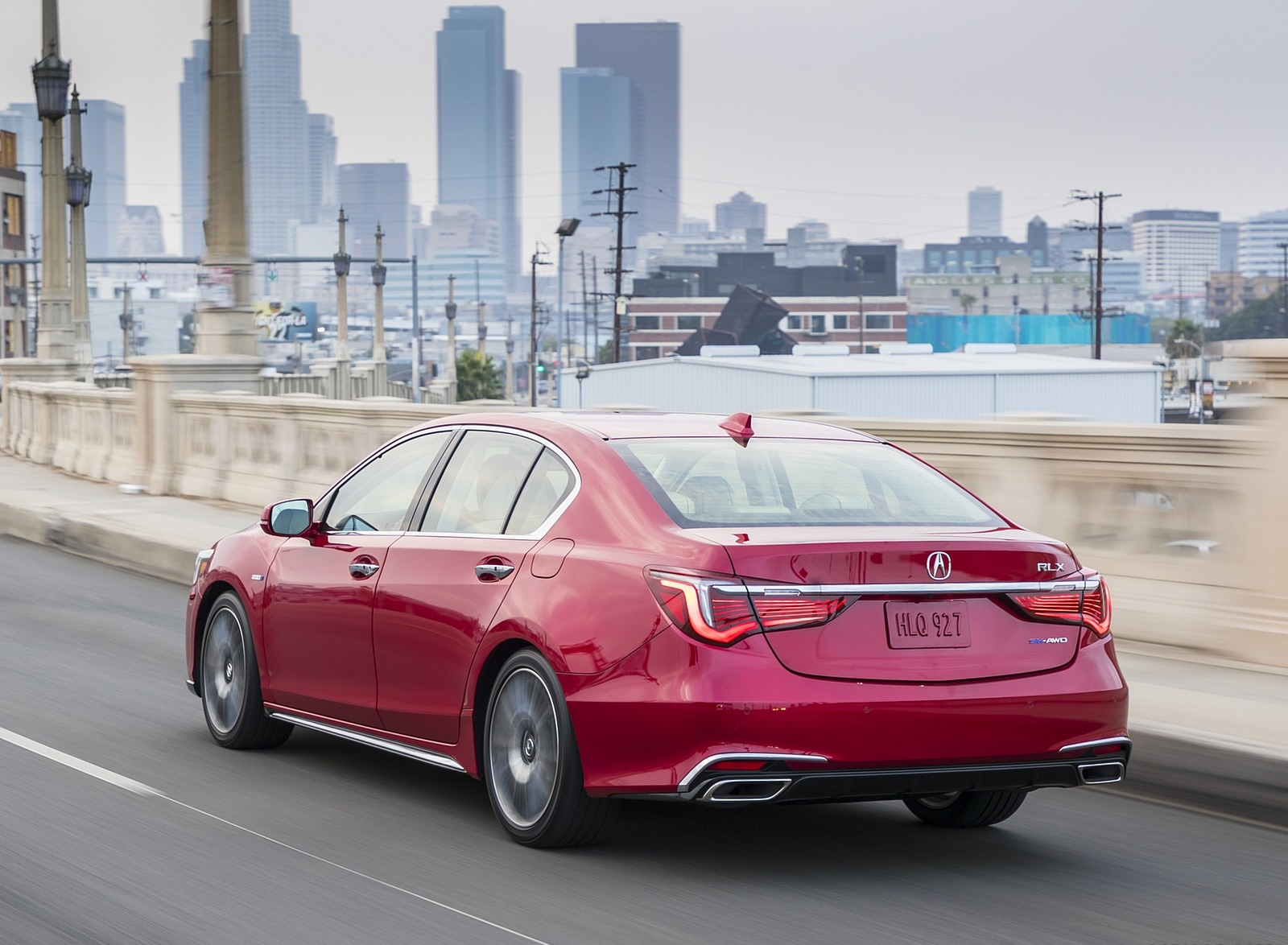 2018 Acura RLX Sport Hybrid Rear Three-Quarter Wallpaper (15)