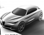 2018 Alfa Romeo Stelvio Design Sketch Wallpapers 150x120 (39)