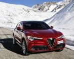 2018 Alfa Romeo Stelvio Front Three-Quarter Wallpapers 150x120 (10)