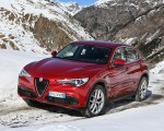 2018 Alfa Romeo Stelvio Front Three Quarter Wallpapers 150x120 (13)