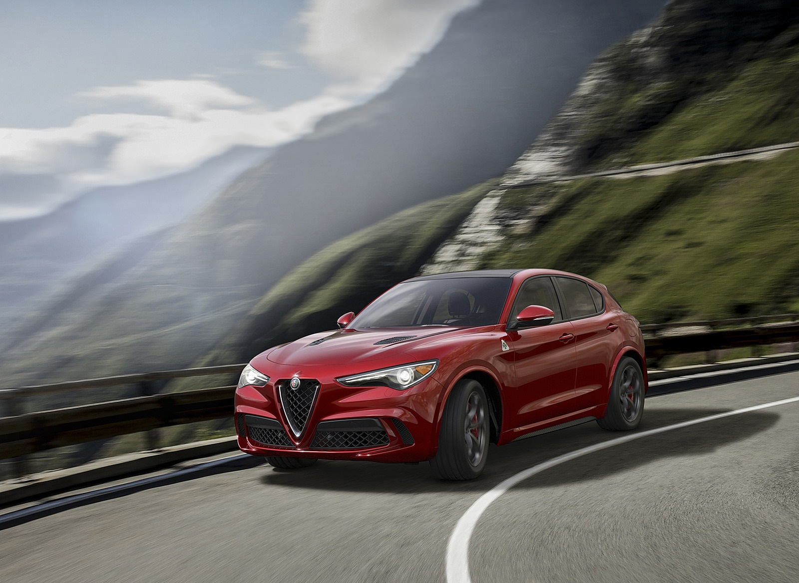 2018 Alfa Romeo Stelvio Front Three-Quarter Wallpapers (4)