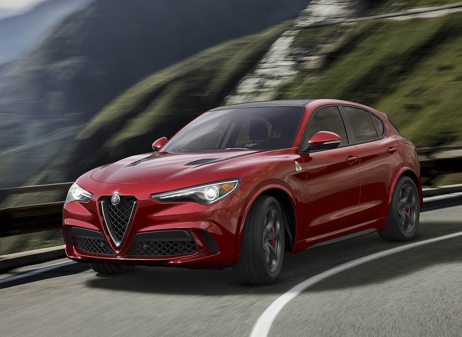 2018 Alfa Romeo Stelvio Front Three Quarter Wallpapers (1)