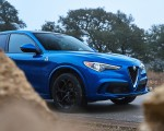 2018 Alfa Romeo Stelvio Quadrifoglio (Color: Misano Blue) Detail Wallpapers 150x120 (37)