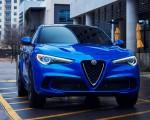 2018 Alfa Romeo Stelvio Quadrifoglio (Color: Misano Blue) Detail Wallpapers 150x120