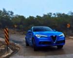 2018 Alfa Romeo Stelvio Quadrifoglio (Color: Misano Blue) Front Wallpapers 150x120 (34)