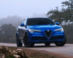 2018 Alfa Romeo Stelvio Quadrifoglio (Color: Misano Blue) Front Wallpapers 150x120 (33)