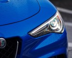 2018 Alfa Romeo Stelvio Quadrifoglio (Color: Misano Blue) Headlight Wallpapers 150x120 (31)
