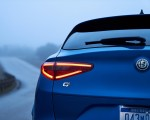 2018 Alfa Romeo Stelvio Quadrifoglio (Color: Misano Blue) Tail Light Wallpapers 150x120 (27)