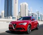 2018 Alfa Romeo Stelvio Quadrifoglio (Color: Rosso Competizione) Front Three Quarter Wallpapers 150x120 (43)