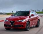 2018 Alfa Romeo Stelvio Quadrifoglio (Color: Rosso Competizione) Front Wallpapers 150x120 (49)