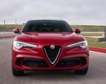 2018 Alfa Romeo Stelvio Quadrifoglio (Color: Rosso Competizione) Front Wallpapers 150x120
