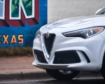 2018 Alfa Romeo Stelvio Quadrifoglio (Color: Trofeo White) Detail Wallpapers 150x120 (14)