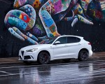 2018 Alfa Romeo Stelvio Quadrifoglio (Color: Trofeo White) Front Three-Quarter Wallpapers 150x120 (12)