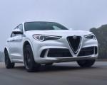 2018 Alfa Romeo Stelvio Quadrifoglio (Color: Trofeo White) Front Wallpapers 150x120 (18)