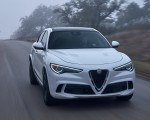 2018 Alfa Romeo Stelvio Quadrifoglio (Color: Trofeo White) Front Wallpapers 150x120 (22)
