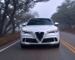 2018 Alfa Romeo Stelvio Quadrifoglio (Color: Trofeo White) Front Wallpapers 150x120 (21)