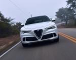 2018 Alfa Romeo Stelvio Quadrifoglio (Color: Trofeo White) Front Wallpapers 150x120 (19)