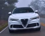 2018 Alfa Romeo Stelvio Quadrifoglio (Color: Trofeo White) Front Wallpapers 150x120 (16)