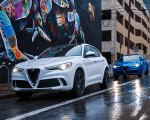 2018 Alfa Romeo Stelvio Quadrifoglio Front Three-Quarter Wallpapers 150x120 (15)