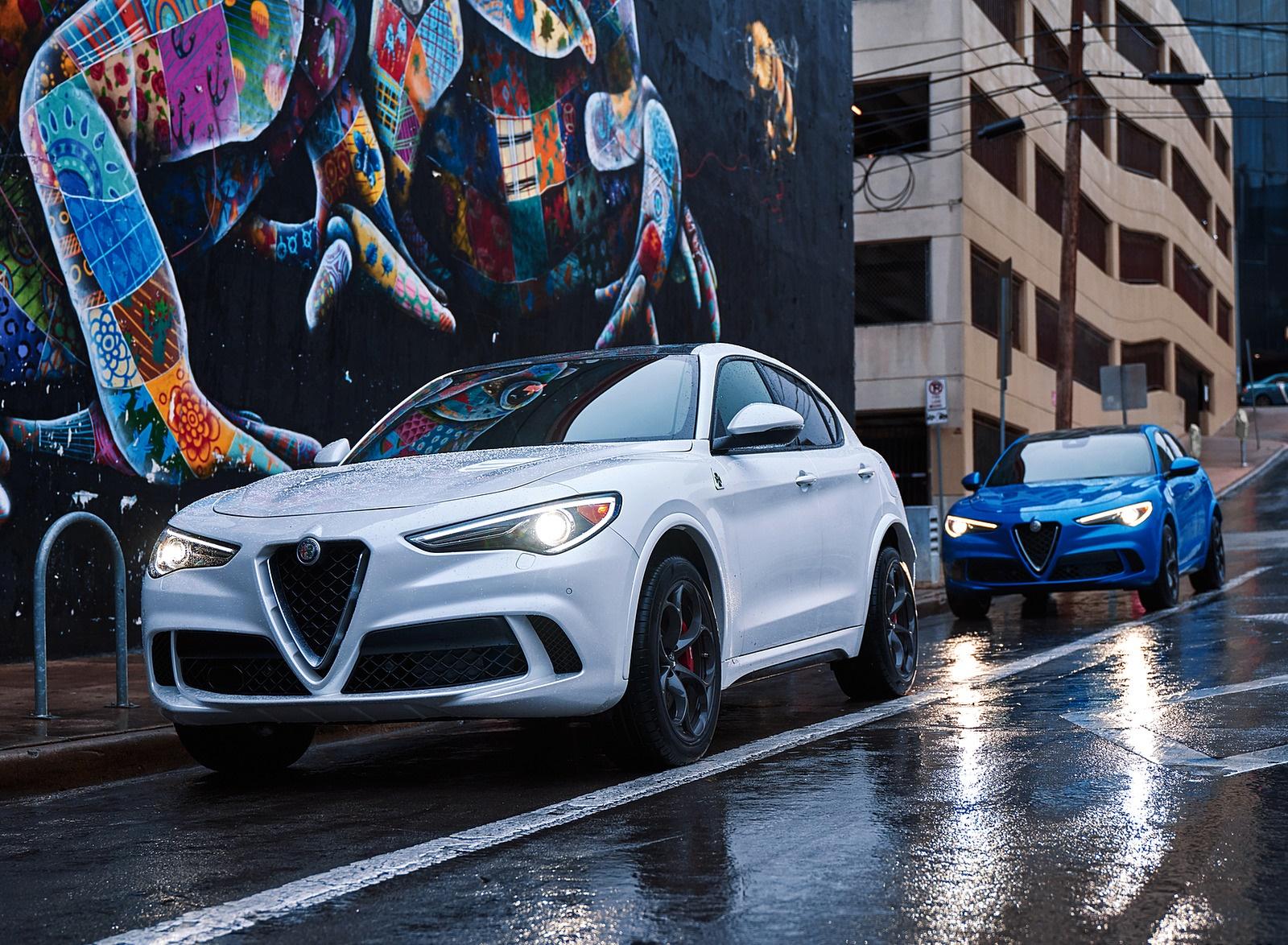 2018 Alfa Romeo Stelvio Quadrifoglio Front Three-Quarter Wallpapers (15)