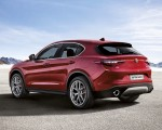 2018 Alfa Romeo Stelvio Rear Three-Quarter Wallpapers 150x120 (17)