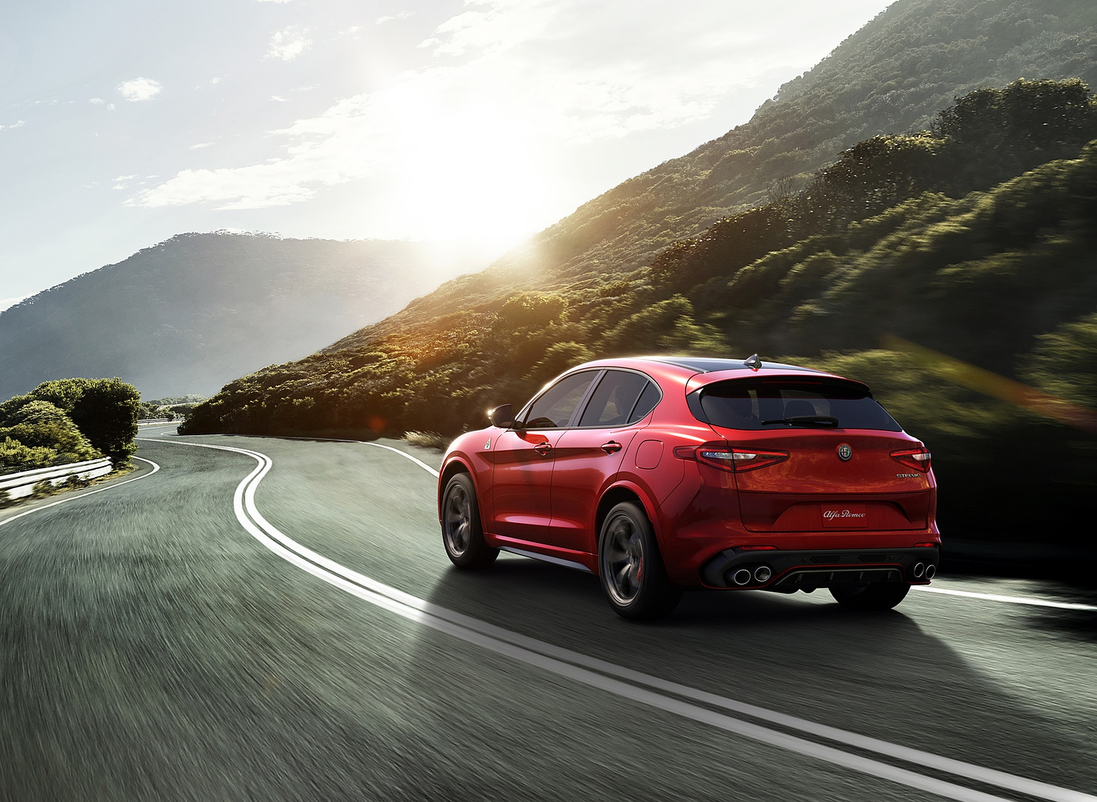2018 Alfa Romeo Stelvio Rear Three Quarter Wallpapers (2)