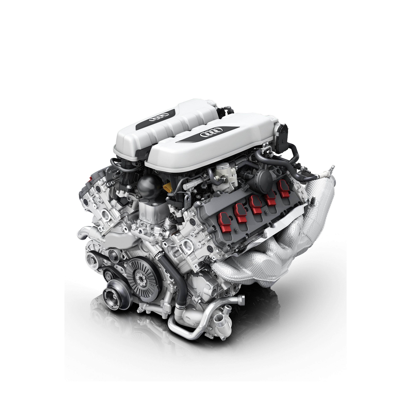 2018 Audi R8 Spyder V10 Plus Engine Wallpaper (11)