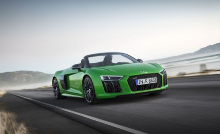 2018 Audi R8 Spyder V10 Plus Wallpapers