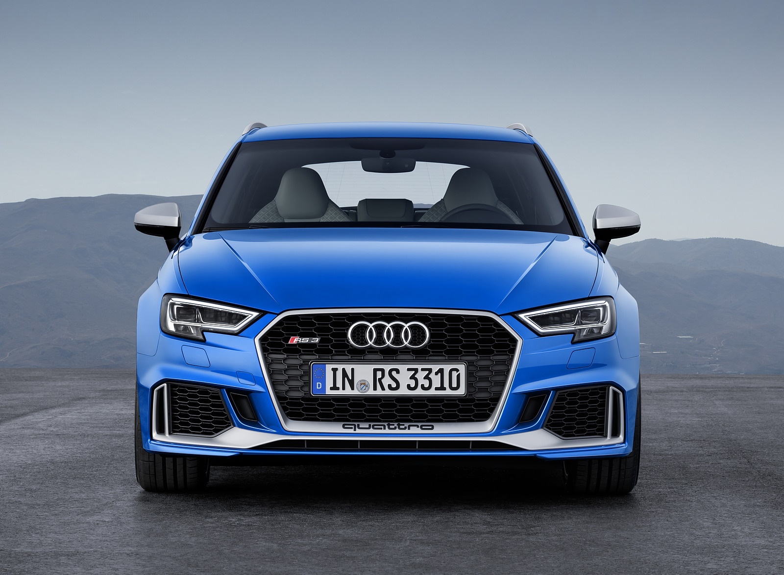 2018 Audi RS 3 Sportback (Color: Ara Blue) Front Wallpaper (6)