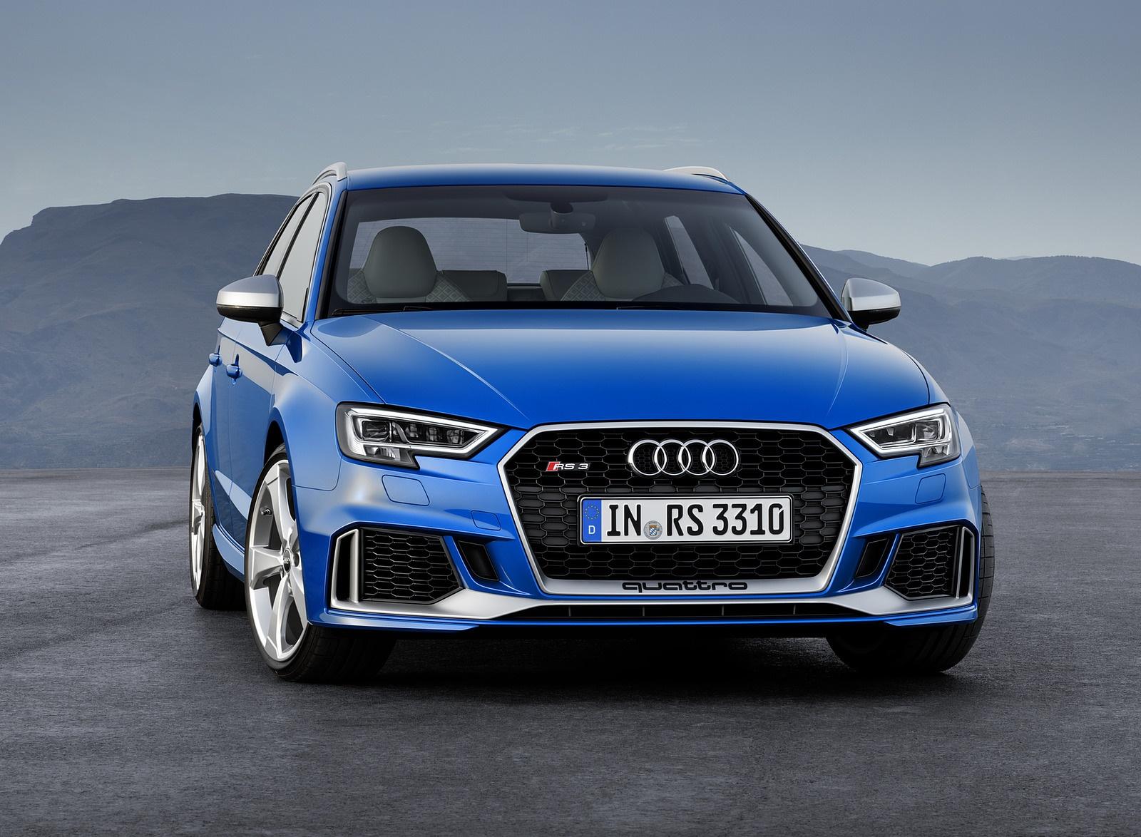 2018 Audi RS 3 Sportback (Color: Ara Blue) Front Wallpaper (7)