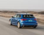2018 Audi RS 3 Sportback (Color: Mystic Blue) Rear Three-Quarter Wallpaper 150x120 (37)