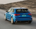 2018 Audi RS 3 Sportback (Color: Mystic Blue) Rear Wallpaper 150x120 (38)